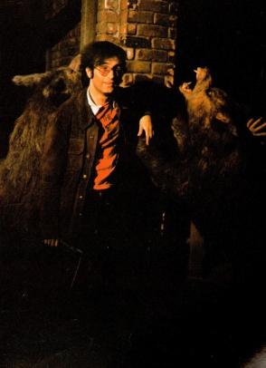 Dante with the unused rocket Werewolves.