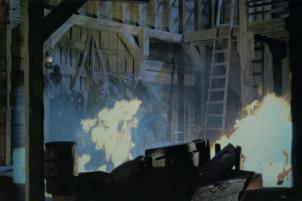 One of the unused stop-motion sequences.