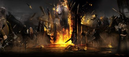 Concept art of the Moorwen's escape.