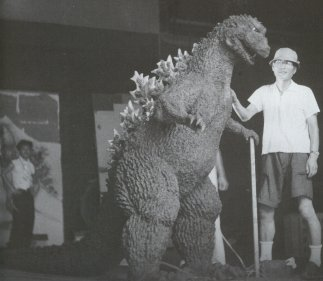 The first Godzilla suit.